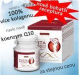 """Invita Skin Beauty plus CoQ10 - nově téměř o 100% více lyofilizovaného hydrátu """"živého"""" kolagenu Inventia PT Sp."""