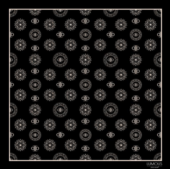 Snow crystal - černá LUMOUS design