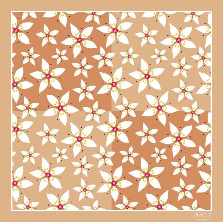 Arctic flowers -béžová LUMOUS design