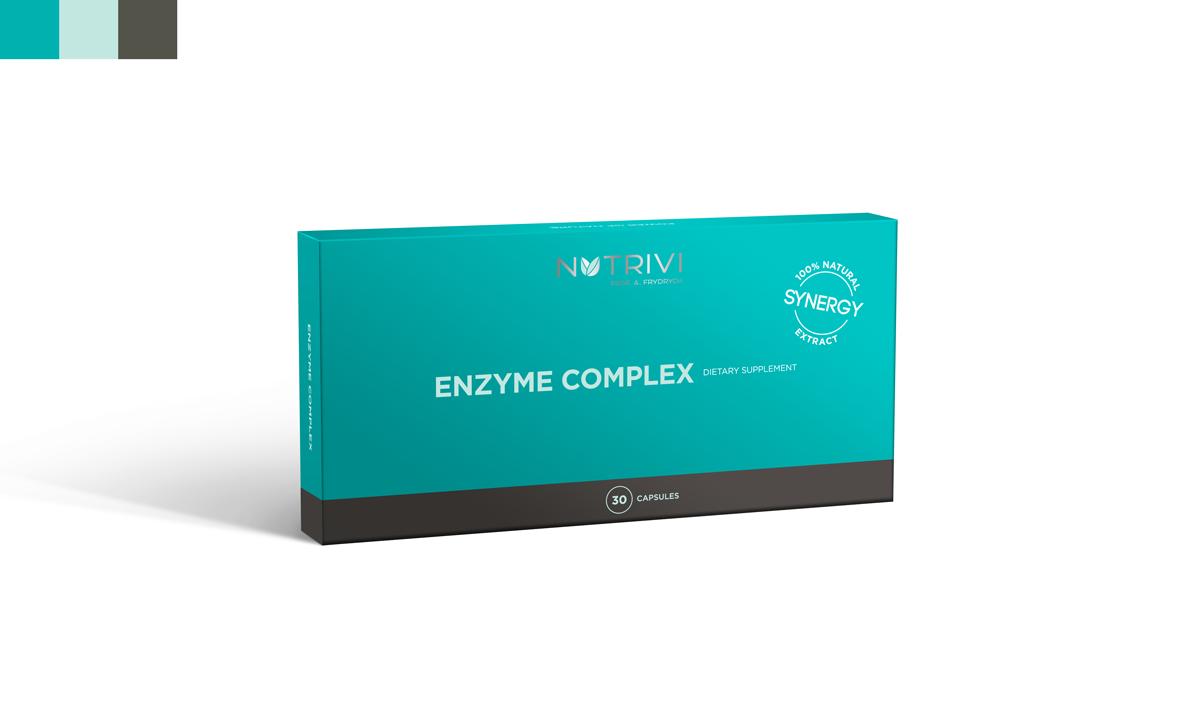 Enzyme Complex je kompozice bromelainu a papainu WellU Sp. z o.o.