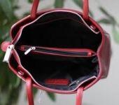 FANNY - vínově červená LUMOUS design