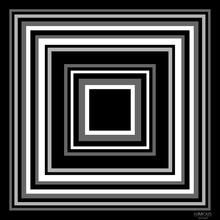 Cubic - černá LUMOUS design