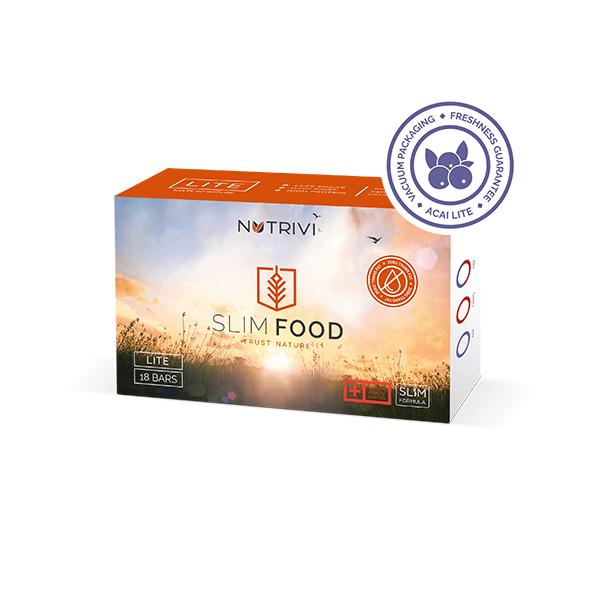Slim Food Lite Acai 18 tyčinek WellU Sp. z o.o.