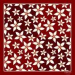 Arctic flowers - vínová LUMOUS design