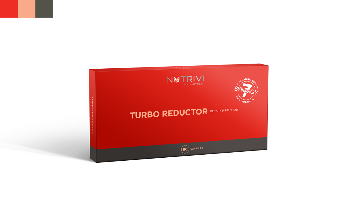 Turbo Reductor 60 kapslí WellU Sp. z o.o.